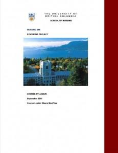 UBC Nursing Synthesis Program