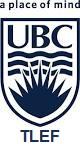UBC TLEF logo