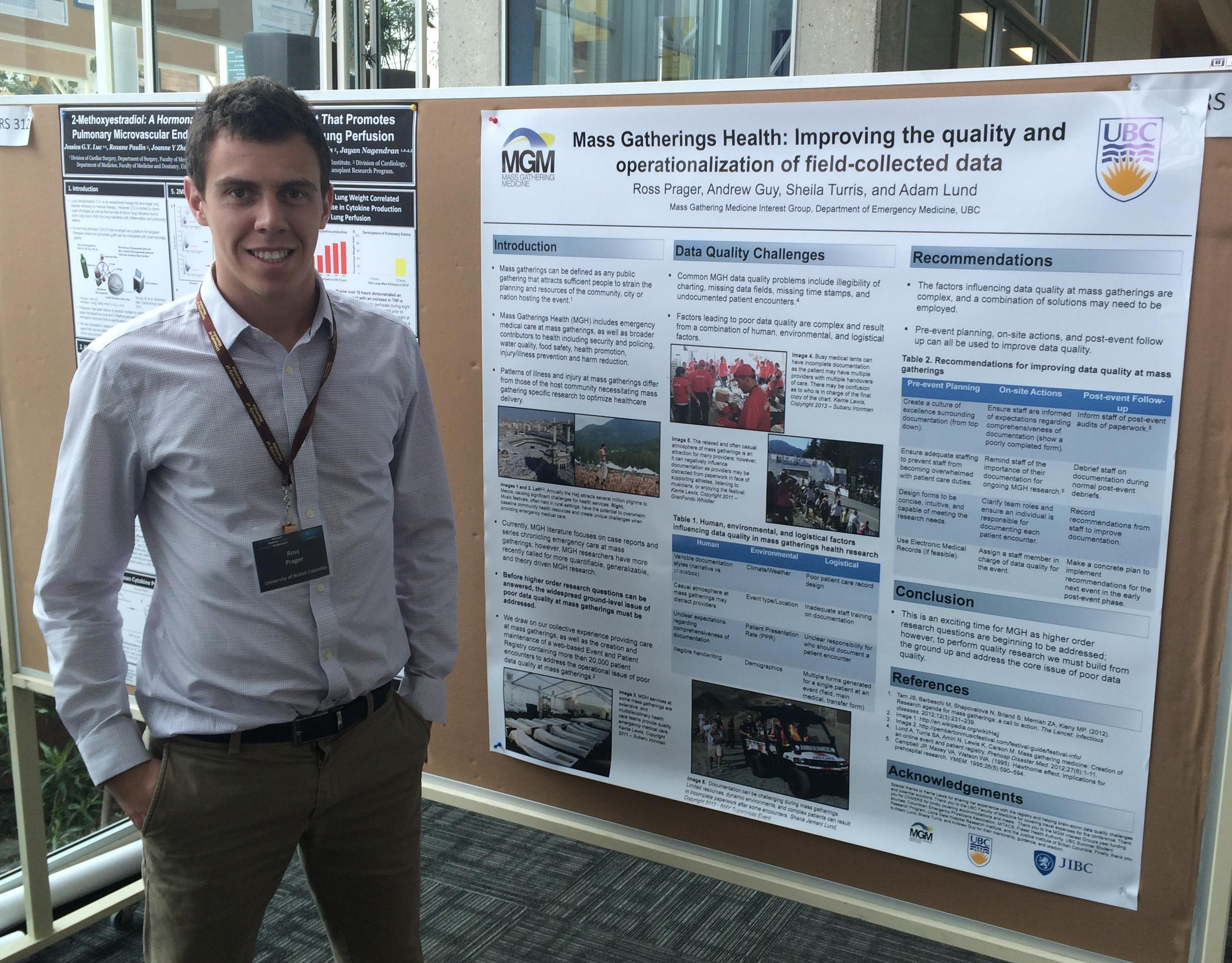Canadian National Medical Student Research Symposium (CNMSRS)   Mass